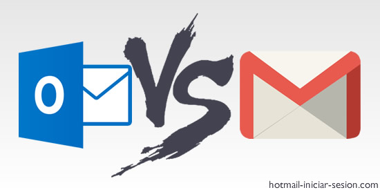 outlook iniciar sesion vs gmail