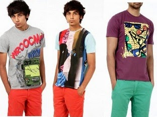 Flat 40% Off on Probase / Basics Men's T-Shirts (Deal Price starts from Rs.191 Only)