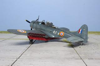 SBD-5 Dauntless French Navy d'Italeri au 1/48.