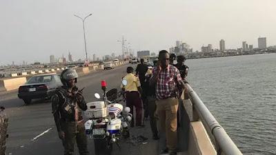 OMG: LASU student jumps into Lagos lagoon