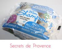 Secrets de Provence, shampoing solide