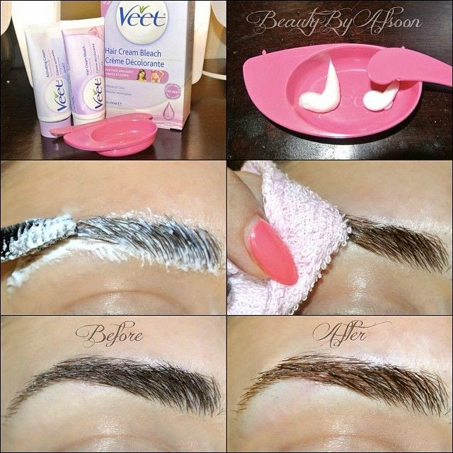 How To Lighten Your Eyebrows At Home B Amp G Fashion