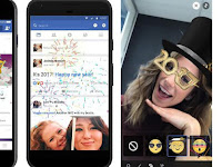 Greet the New Year, 2017, Facebook Turn 'Fireworks'