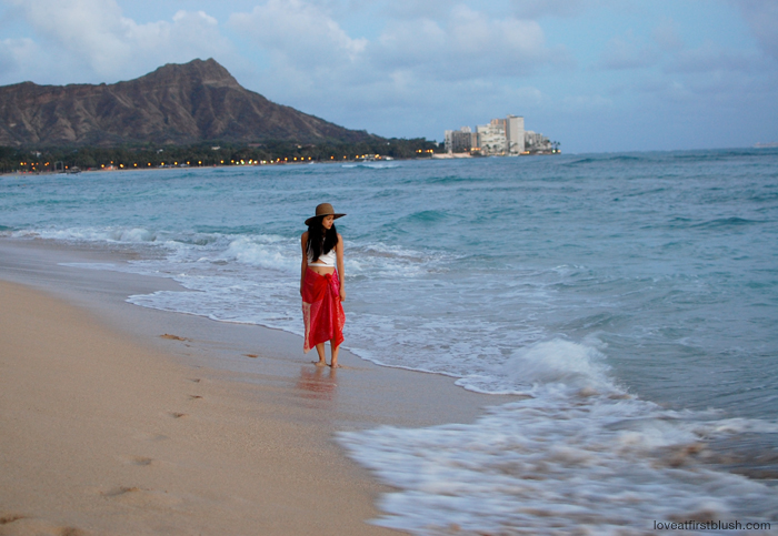 honolulu hawaii beach sabrina chin