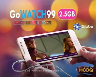 Globe and TM GoWATCH 99 – Video Streaming Promo Valid for 3 days