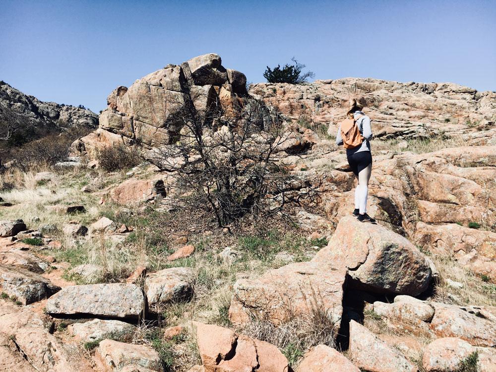 witchita mountains hike