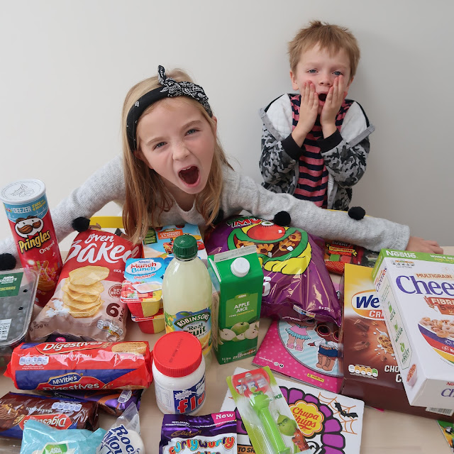 What Happened When We Let The Kids Do Our Weekly Shop!