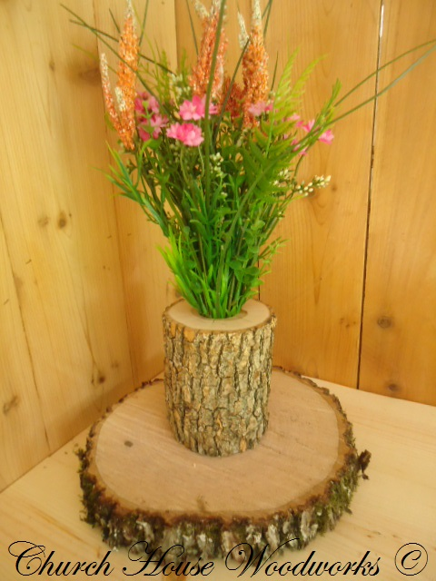 Rustic Wedding Centerpieces Tree Branch Flower Holders