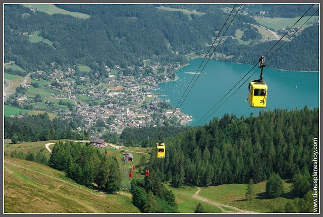 Telecabina St Gilgen (Austria)