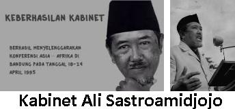 [Sejarah Lengkap] Kabinet Ali Sastromidjojo 1 dan 2 (1953-1957)