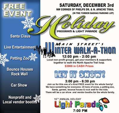 Apache Junction Holiday Program And Light Parade Free Event East - Apache junction car show