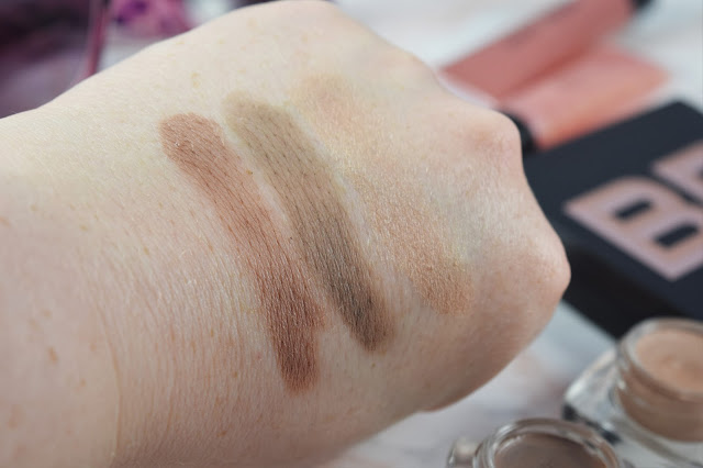Bobbi Brown Sunset Pink Long-Wear Cream Eyeshadows Swatches