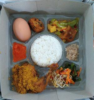 nasi box selapanan bayi,