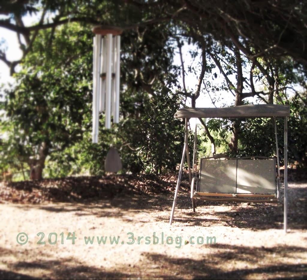 swing under the trees Vasquez grove
