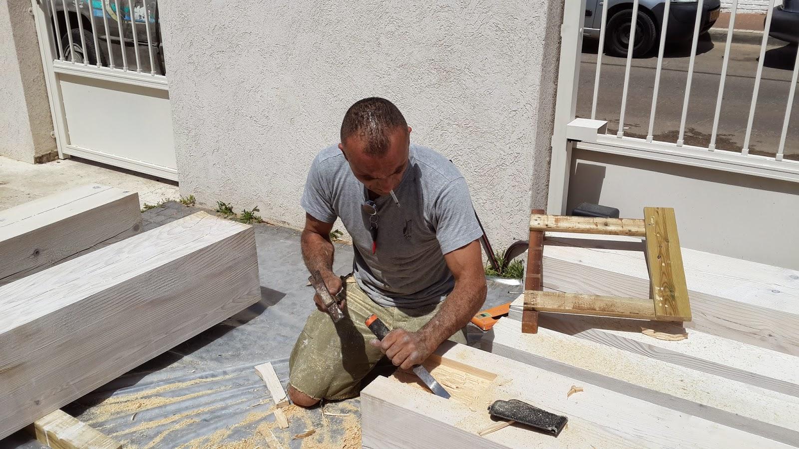 בונה פרגולות עץ