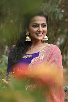 Actress Shraddha Srinath in Purple Chania Choli Cute Pics ~  Exclusive 20.jpg