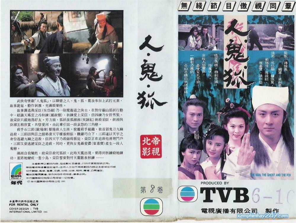 http://xemphimhay247.com - Xem phim hay 247 - Nhân Quỷ Hồ Ly Tinh (1991) - The Man The Ghost And The Fox (1991)