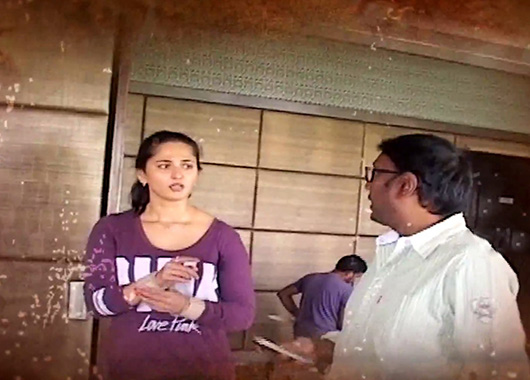 Anushka Shetty in Rudhramadevi-Making-Video