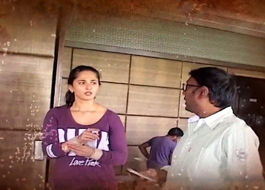 Anushka Shetty in Rudhramadevi-Making-Video