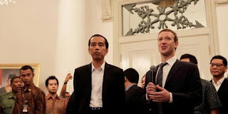 Jokowi dan Mark Zuckerberg - The Social Network (2010)