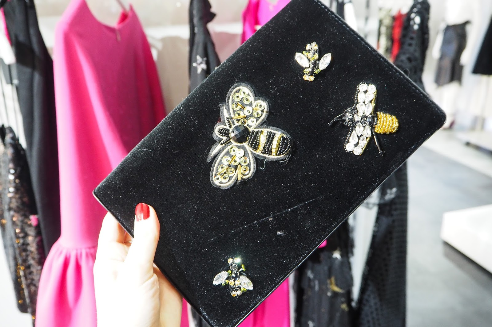 Very Partywear #VeryParty - Bee Clutch Bag