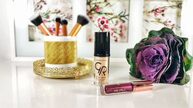 Golden Rose Total Cover 2 ın 1 Föndeten ve Concealer