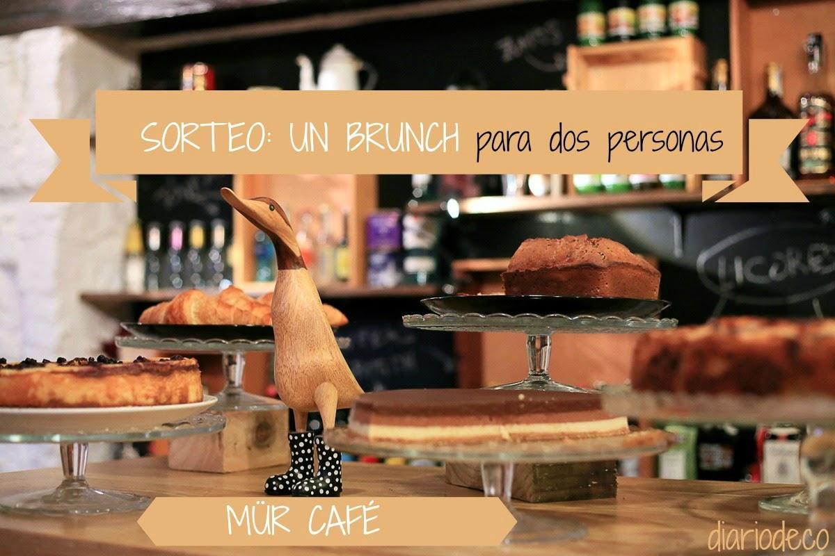 #REGALAMOSSENSACIONES: SORTEO BRUNCH EN EL MÜR CAFÉ
