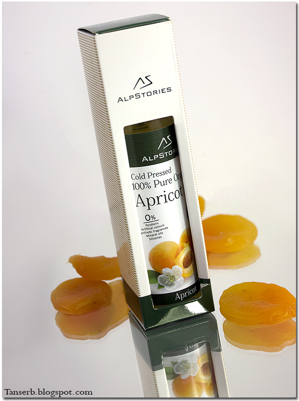 Alpstories 100% Pure Organic Apricot Oil. Абрикосовое масло.