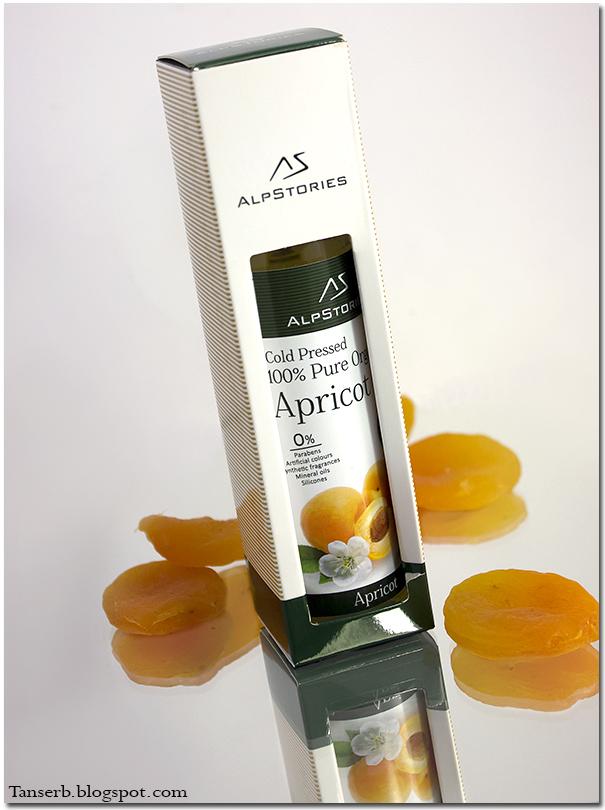 Alpstories 100% Pure Organic Apricot Oil. Абрикосовое масло.