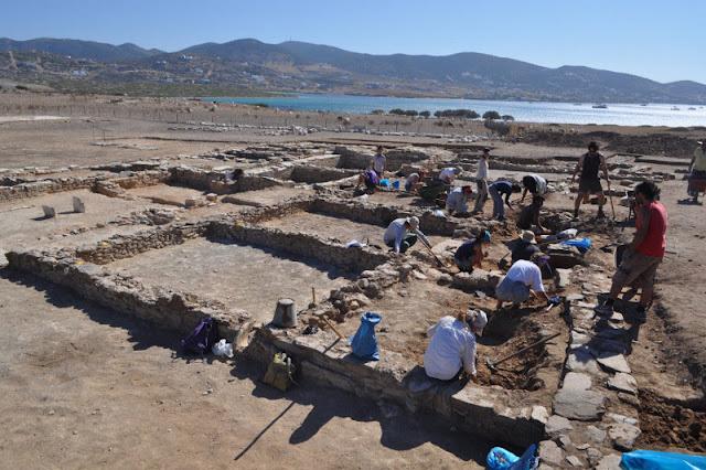 Building complex revealed in Despotiko
