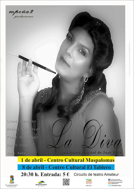 La Diva en el centro Cultural de Maspalomas