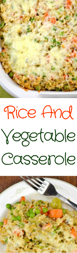 Rice And Vegetable Casserole