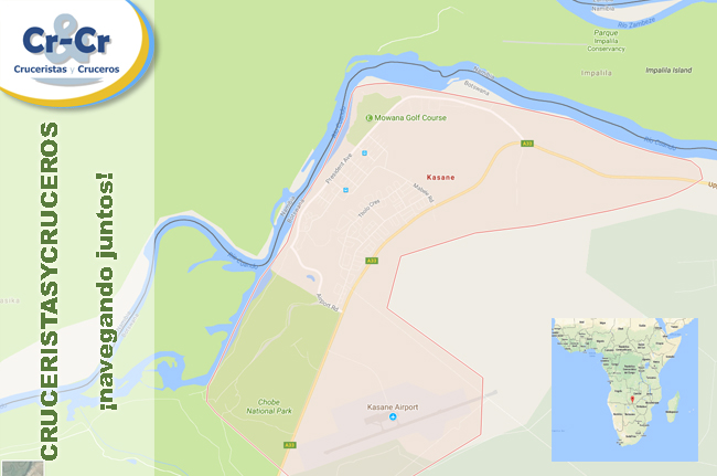 CROISIEUROPE ANUNCIA SU LUJOSO CRUCERO-SAFARI POR ÁFRICA