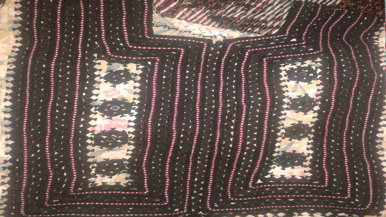 balochi dress photo - 1