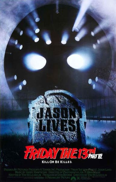 Poster Of Jason Lives Friday The 13th Part VI 1986 720p English BRRip Full Movie