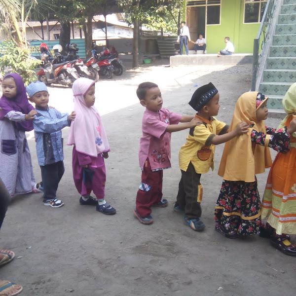 Hari Pertama Fahima Masuk TK