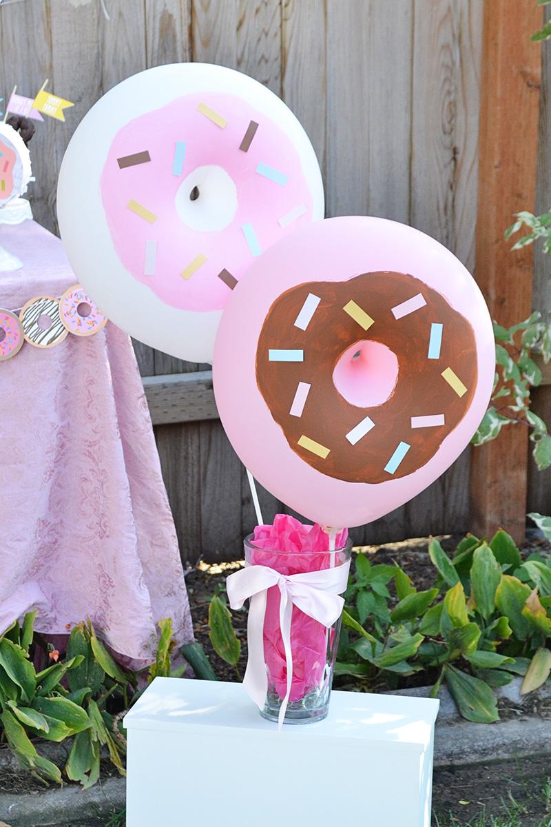 Aly Dosdall: diy donut balloons