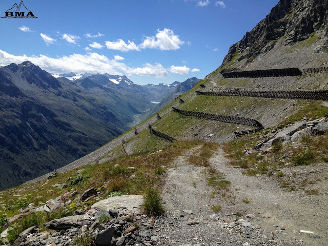 Hochalpenstraße und stausee vom Grieskogel wandern outdoor-blog best-mountain-artists