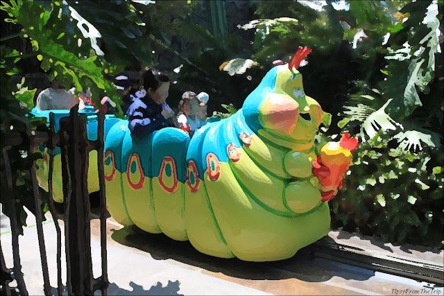 Heimlich's Chew Chew Train, Disney's Adventure Park