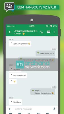 Preview BBM Hangouts V2.12.0.11