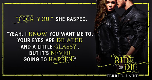 Wicked Wednesday Teaser - Ride or Die by Terri E. Laine!