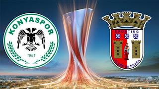 Konyaspor Braga maçi hangi kanalda? Saat kaçta?