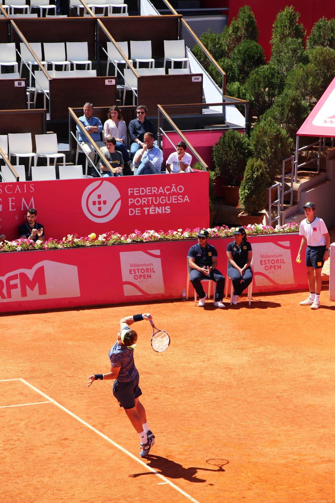 David Ferrer - Millennium Estoril Open 2017