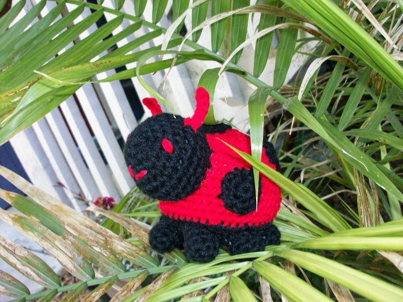 Handmade Ladybug Stuffie