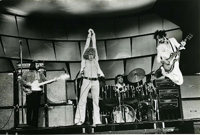 The Who John Entwistle, Roger Daltrey, Keith Moon, Pete Townshend