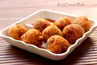 Rice cheese balls