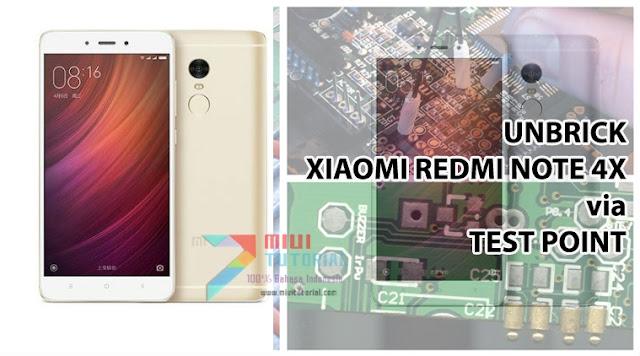 Xiaomi Redmi Note 4X Kamu Bootloop, Hardbrick, Mati Total atau Sulit Masuk Mode Download EDL? Coba Tutorial Test Point Berikut Ini!