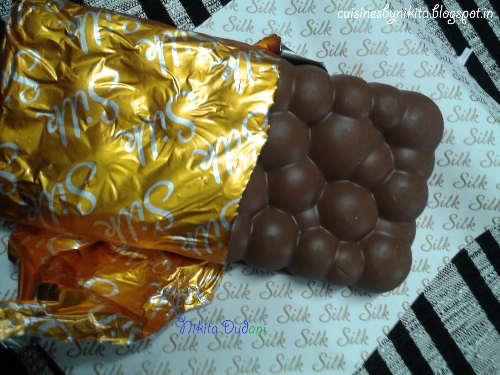 Product Review: Cadbury Dairy Milk Silk Bubbly