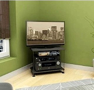 Atlantic Berlin Corner Flat Panel TV Stand