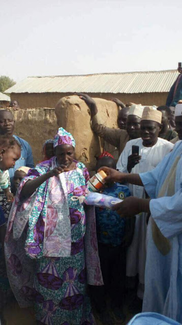 Photos: Bauchi State First lady rehabilitates mentally ill woman who gave birth on the street after being impregnated by a